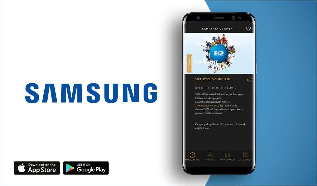 Samsung ile POP Event & Travel'dan Özel İş Birliği