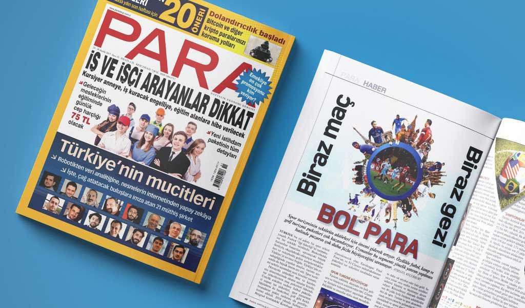 Haftalık Para Dergisinin 24-30 Aralık Sayısındayız!