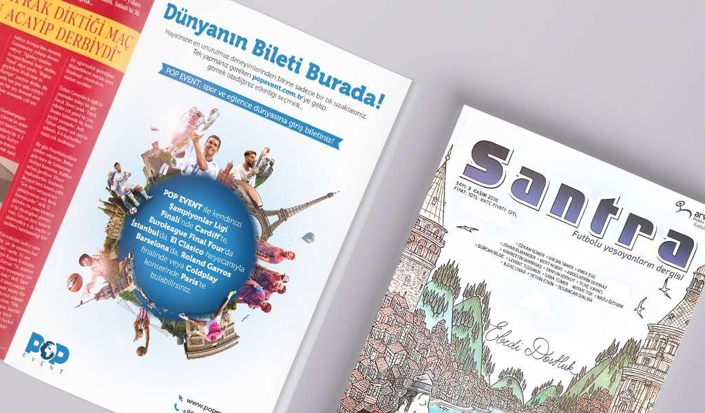 Santra Dergi Kasım Sayısındayız!