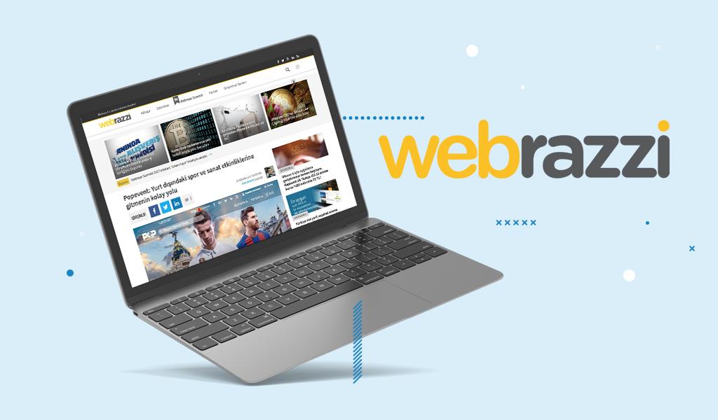 Webrazzi Girişimler Kategorisinde Konu Olduk