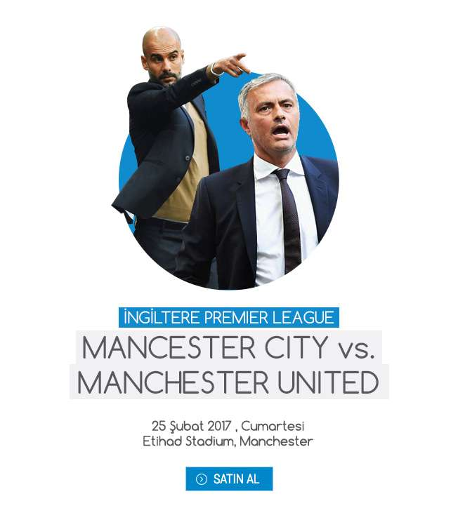 MAN CITY vs MAN CITY MAÇ BİLETİ SATIN AL